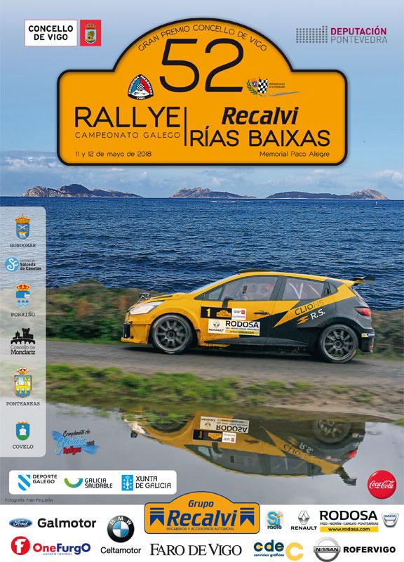 Cartel oficial del Rallye
