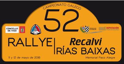 52 Rallye Recalvi Rías Baixas