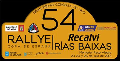 54 Rallye Recalvi Rías Baixas